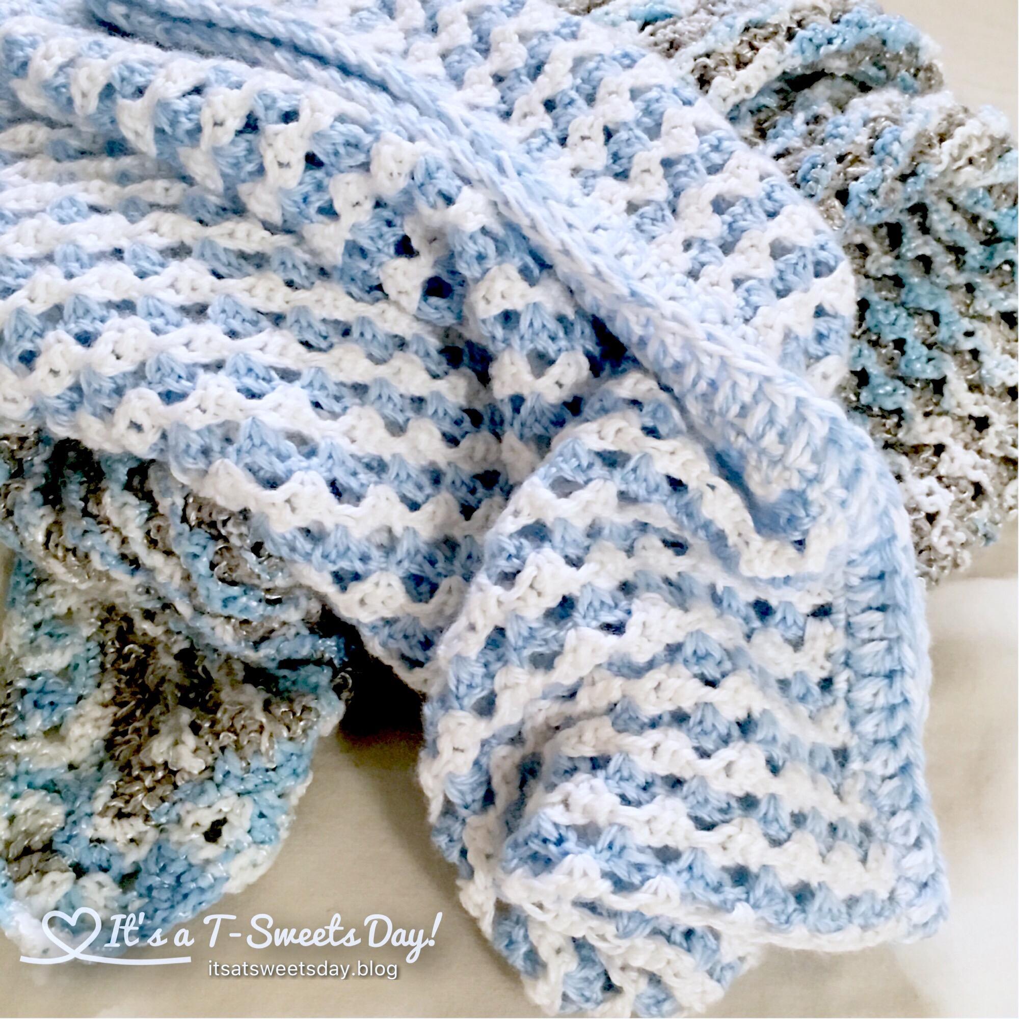 tunisian crochet – It\'s a T-Sweets day!