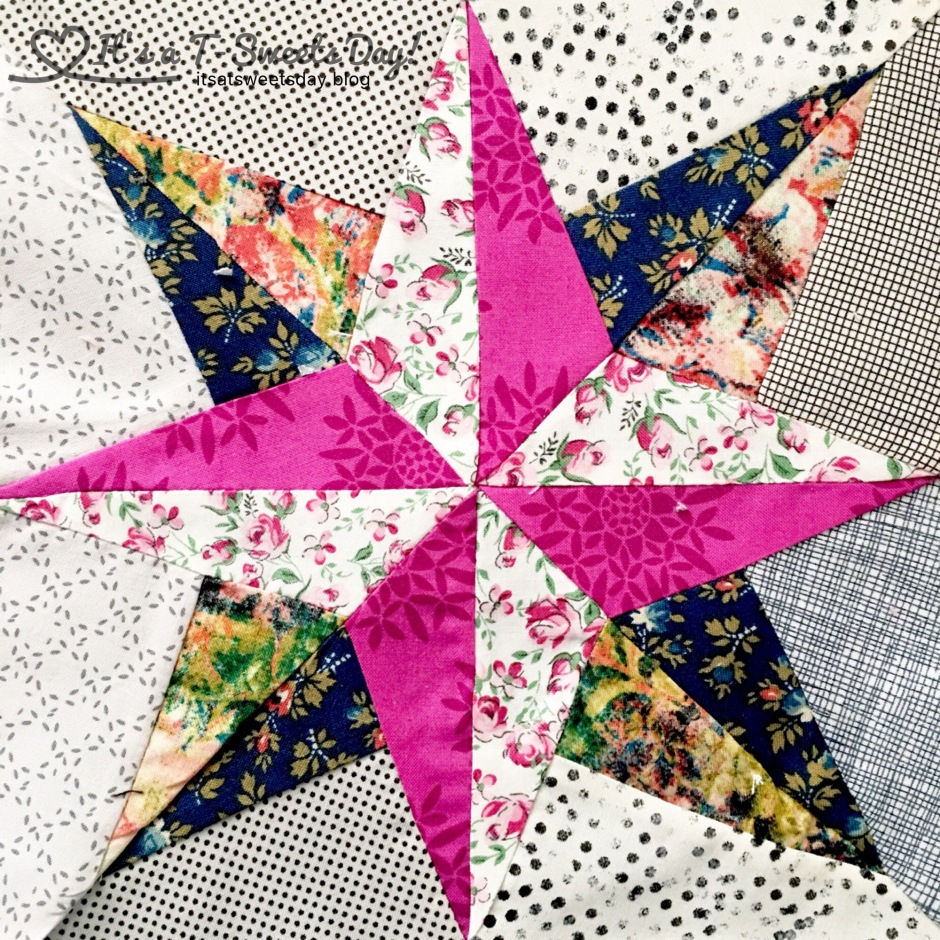 Delilah Quilt Along – North Star Block – It's a T-Sweets day! : north star quilt block - Adamdwight.com