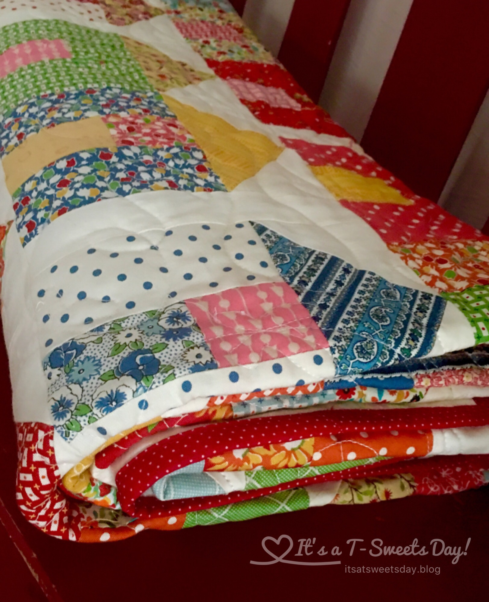 Village Quilt Its A T Sweets Day