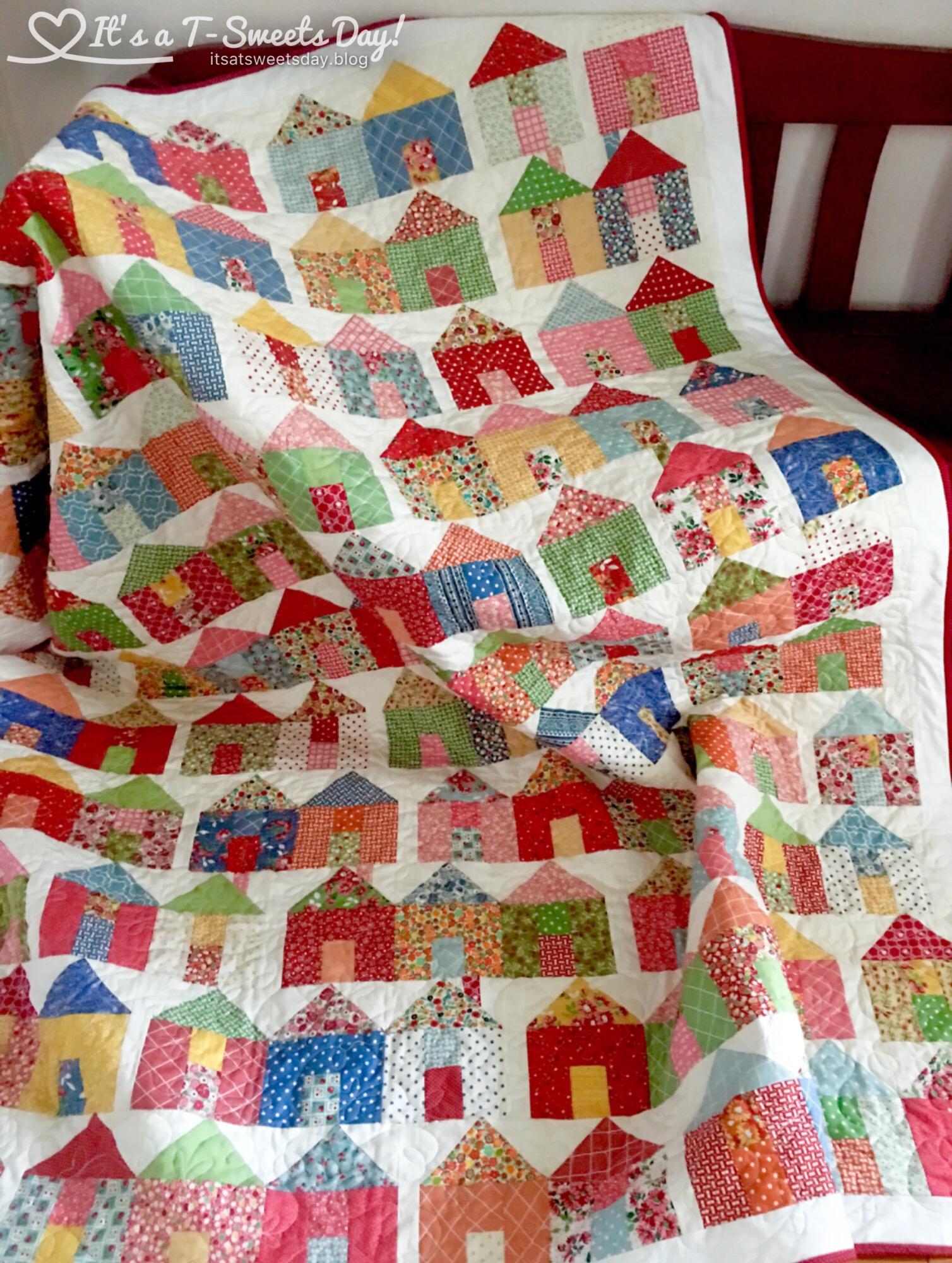 Village Quilt – It's a T-Sweets day! : village quilt - Adamdwight.com